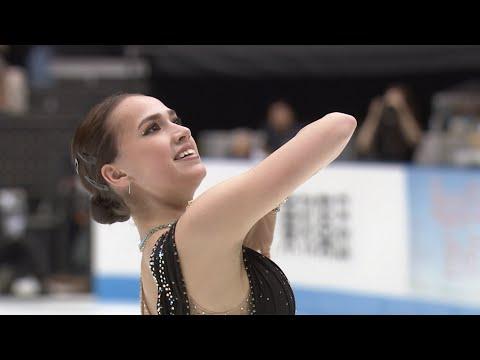 Алина Загитова презентовала платье для произвольной программы в образе Клеопатры. Japan Open 2019