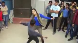 le le maja le....funny dance by crazy girl