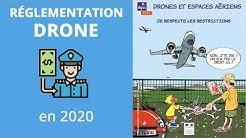RÉGLEMENTATION DRONE pour 2020 - Amendes et obligations