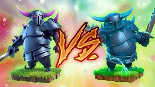 P.E.K.K.A vs super P.E.K.K.A | private server | Clash of clans | coc private server 2018 |