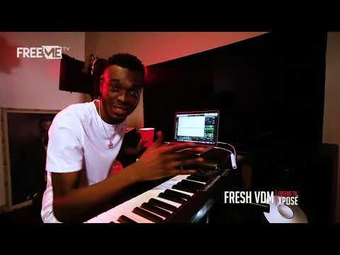 Davido - Nwa Baby [Production Sneak-Peak by Fresh VDM] || FreeMe TV Xposé