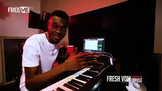 Davido - Nwa Baby [Production Sneak-Peak by Fresh VDM] || FreeMe TV Xposé