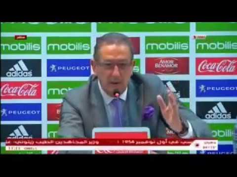 Algérie : Première conférence de presse de Georges Leekens