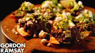 Spicy Black Beans with Feta and Avocado - Gordon Ramsay