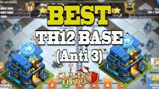 *BEST* TH12 Base for CWL | Clan War Leagues TH12 Base Anti 3 Star | Clash of Clans
