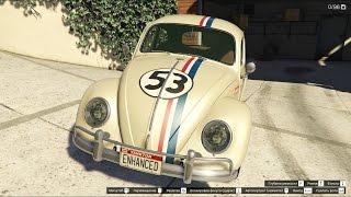 GTA 5 Volkswagen Beetle (Type1) Herbie