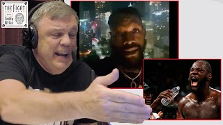 Teddy Atlas on Deontay Wilder's New Accusations: Fury's Gloves, Mark Breland Water Tampering   CLIP