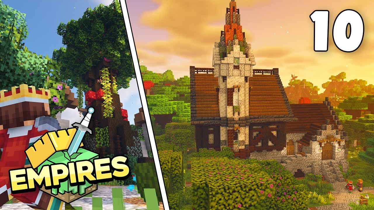 Empires SMP - Mythland Villagers & Stealth Mission!!! - Ep.10 [Minecraft 1.17 Let's Play]