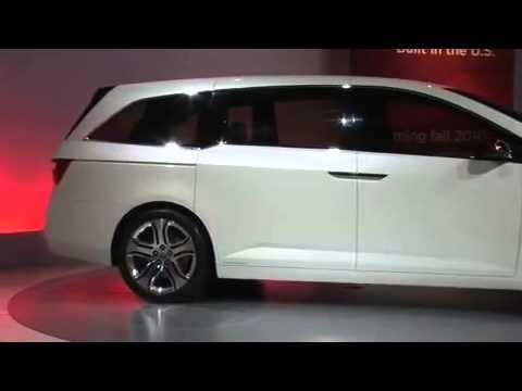 2010 Chicago Honda Odyssey Concept Youtube