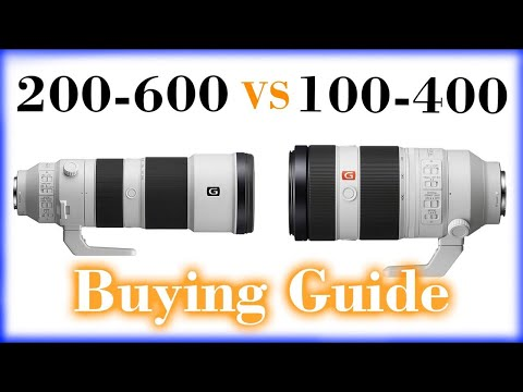 Sony 100-400mm vs 200-600mm Buying Guide - Which One Should YOU Buy?