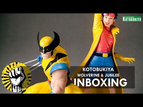 KOTOBUKIYA X-MEN 92 WOLVERINE & JUBILEE UNBOXING