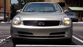 2003-2006 Infiniti G35 HID Headlight Removal | How to Replace Front HID Bulb 2003-2006 Infiniti G35