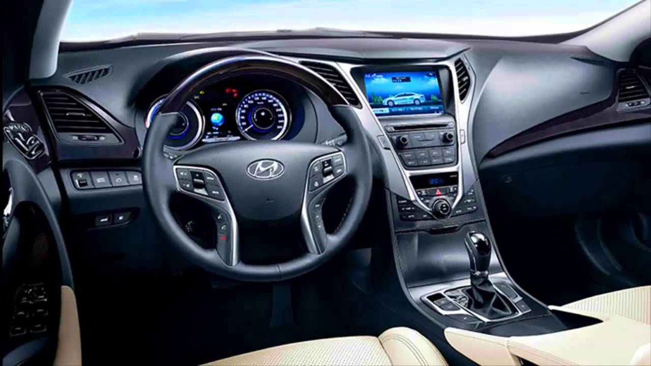 Hyundai Azera Grandeur Hybrid 2017