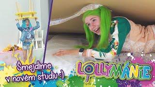 Lollymánie - Šmejdíme v novém studiu😁