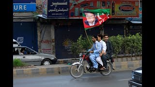 Pakistan populist Imran Khan claims election victory amid fraud allegations