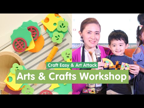 Arts and Crafts Workshop for Kids (featuring Craft Easy & Art Attack)
