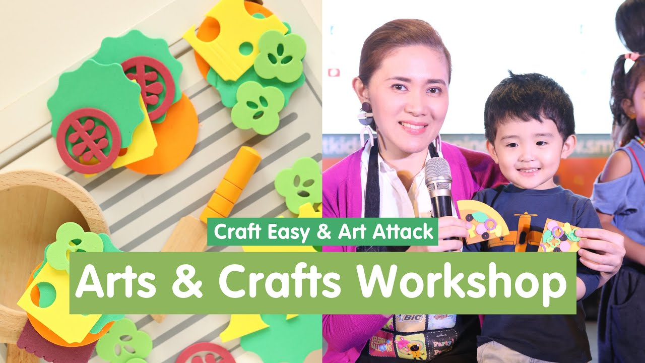 Arts And Crafts Workshop For Kids Featuring Craft Easy Art Attack