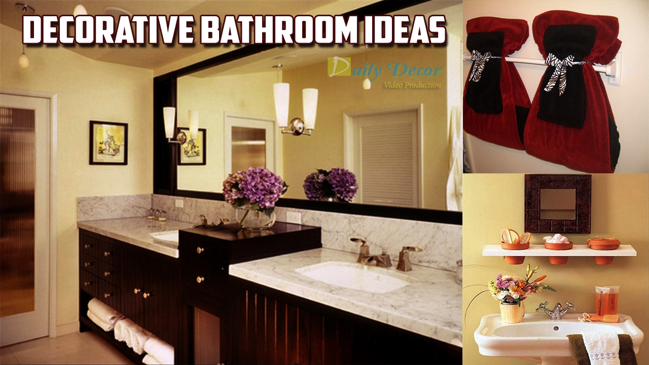 [Daily Decor] Decorative Bathroom Ideas