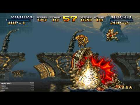 Playing Metal Slug 1, 3 and X with Jolly Co-operation