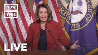 Nancy Pelosi Speaks After Trump's Big State of the Union | NowThis