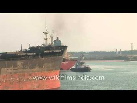 Paradeep Port - Important commercial sea port of India