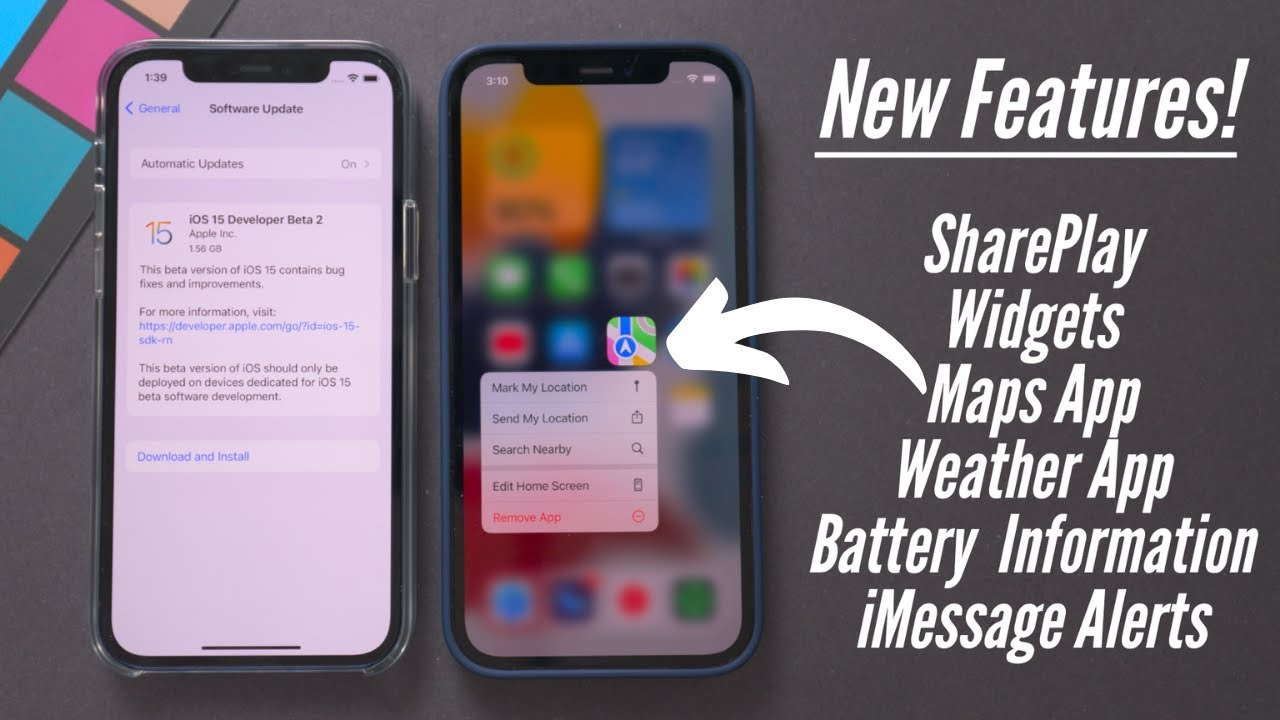 Download iOS 15 Beta 2 Released! 15+ New Features & Changes!