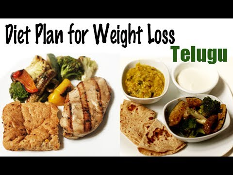 1900 Calories Diet for Weight Loss Telugu YouTube - plans diet