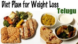 Telugu: weight loss diet that includes only 1900 calories per day. learn about different meal plans are not low in but also highly nutriti...