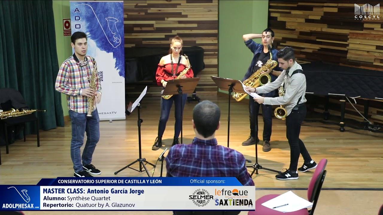 MASTER CLASS - Antonio Garcia Jorge - Synthése Quartet (COSCYL)