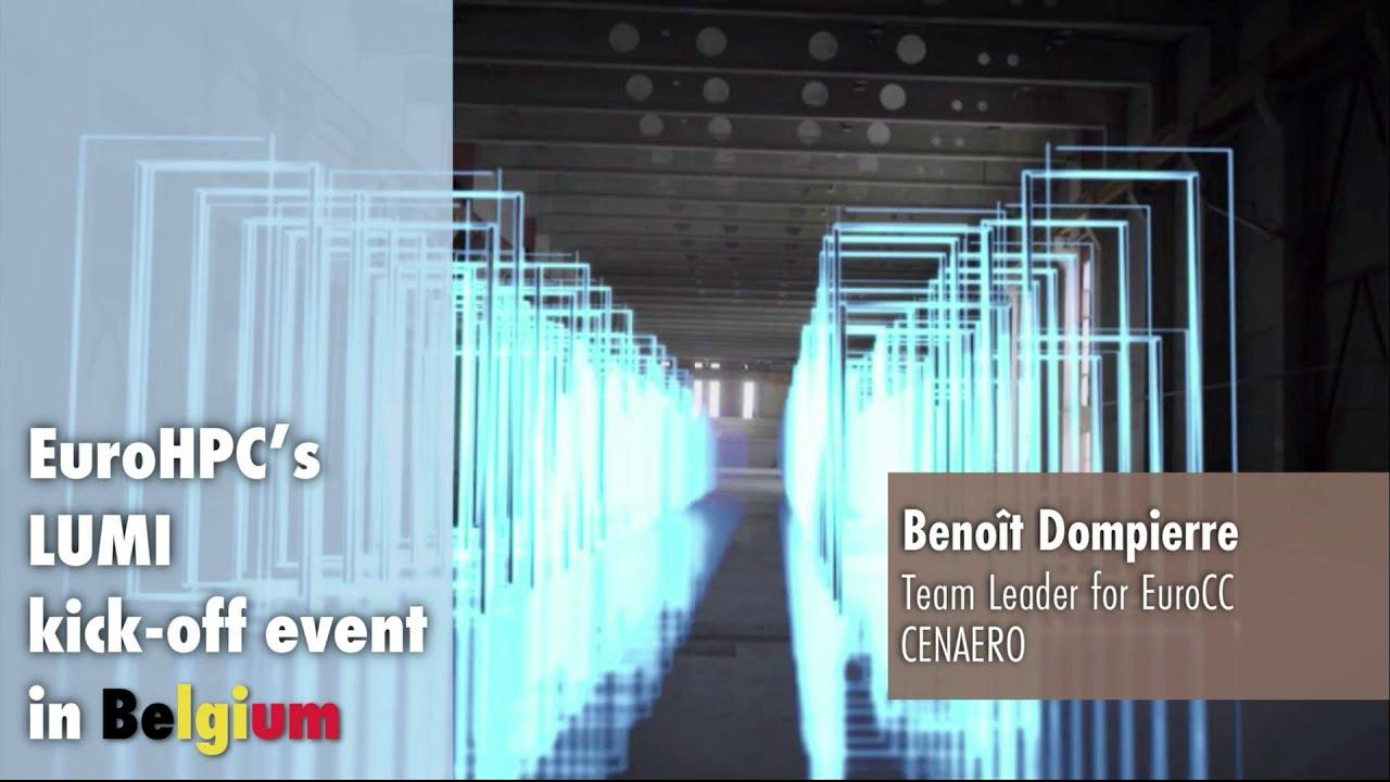 LUMI Kickoff Presentation | Benoît Dompierre
