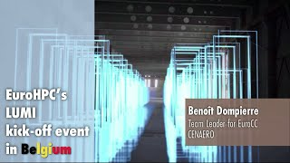 LUMI Kickoff Presentation   Benoît Dompierre