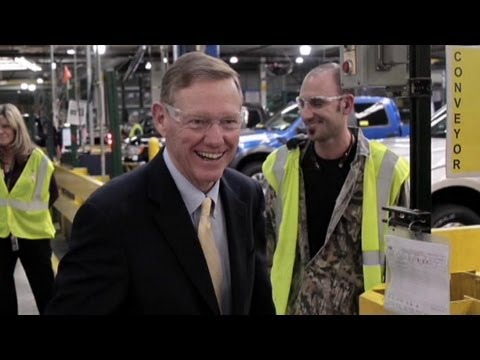 Bill Ford: We're Prepared for Alan Mulally's Exit - YouTube