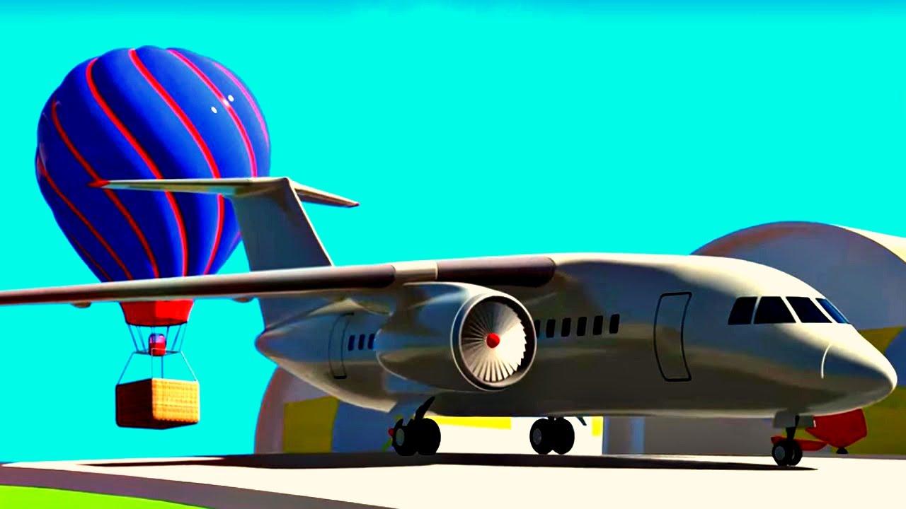 Dessin anim en fran ais pour enfants assemblage d 39 un - Avion en dessin ...