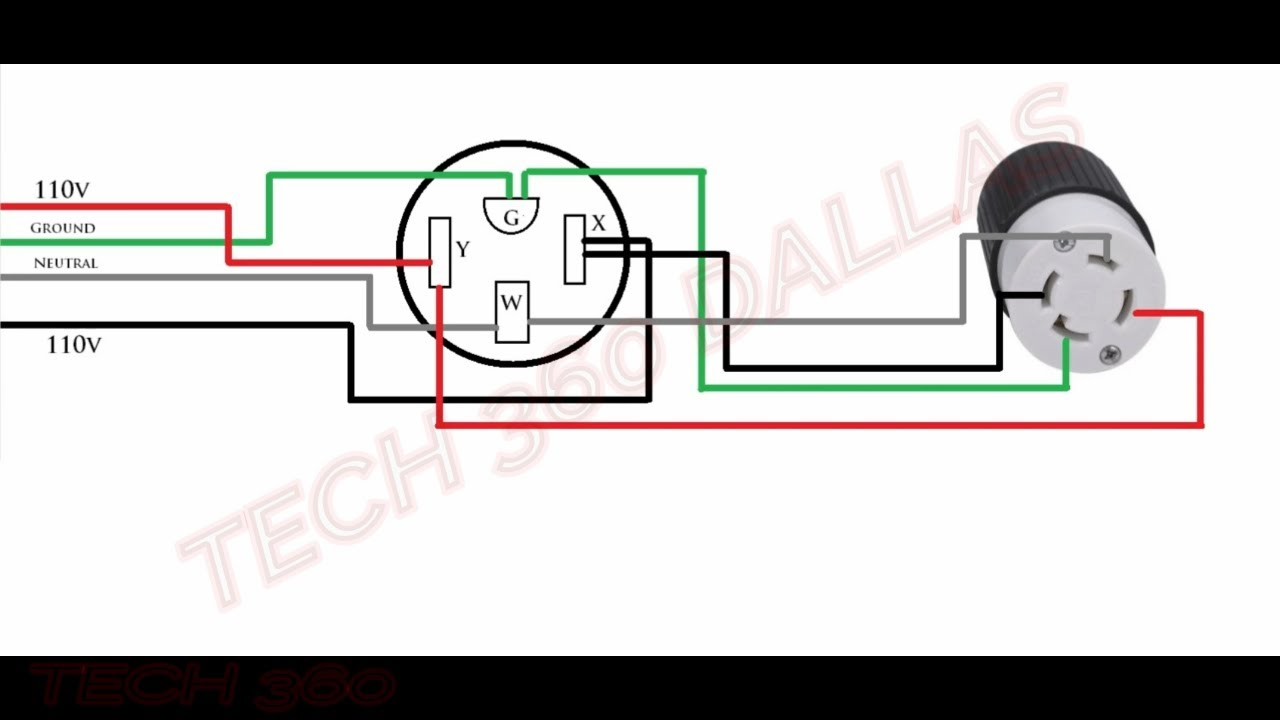 How To Get 110v From A 220v Outlet Simple Youtube