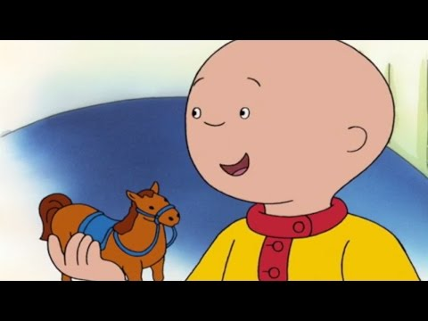 Caillou Full Episodes | Caillou's Toy Horse | Cartoons for Children | #CaillouHolidayFun