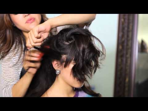 How to Do a Beehive Ponytail : Tress to Impress