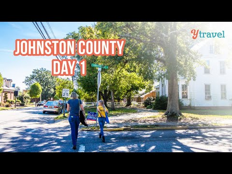 Exploring downtown Clayton & Benson in Johnston County, NC