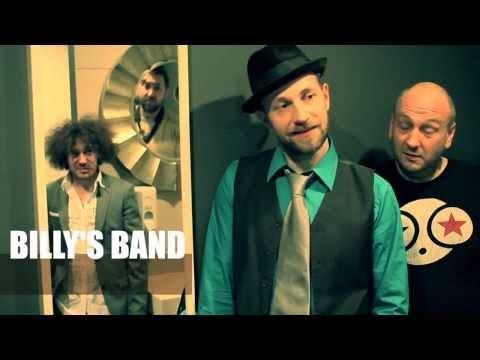 Billy's band - Приглашение на концерт в Омске, 2013