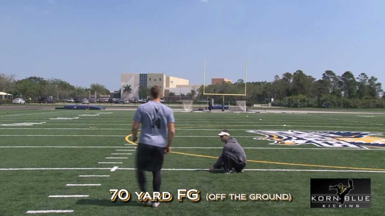 How Difficult Is A 70 Yard Field Goal Wired