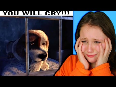 Reacting to the SADDEST ANIMATION!! (Try Not To Cry Challenge)