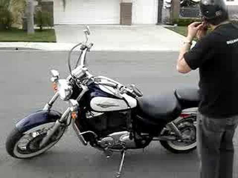 1995 Honda Shadow Ace 1100 Youtube