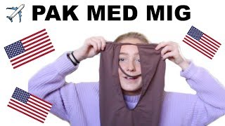 PAK MED MIG TIL USA!!!