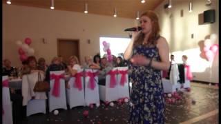 Поздравление брату на свадьбу от сестренки!! Очень трогательное!!! Зал плакал!!!