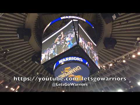 "Golden State Warriors Jumbotron hype video: ""Showtime"""