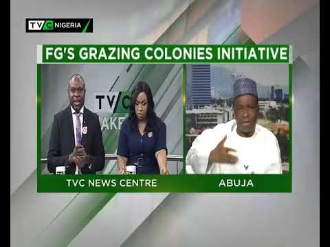 TVC Breakfast 15th January 2018 | FG's Grazing Colonies Initiatives