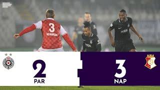 Partizan - Napredak 2:3 | Pregled utakmice | Superliga Srbije