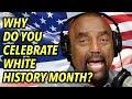 Celebrate White History, Not Black History