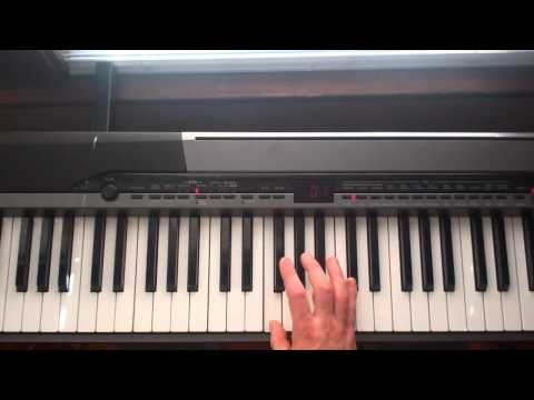 Steely dan Josie Piano lesson part 1