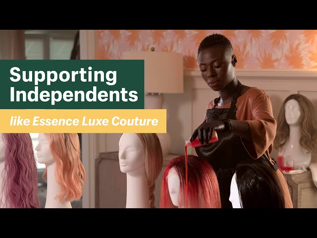 Supporting Independents like Essence Luxe Couture