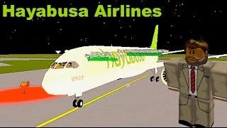 ROBLOX | Hayabusa Airlines Boeing 787-9 Flight